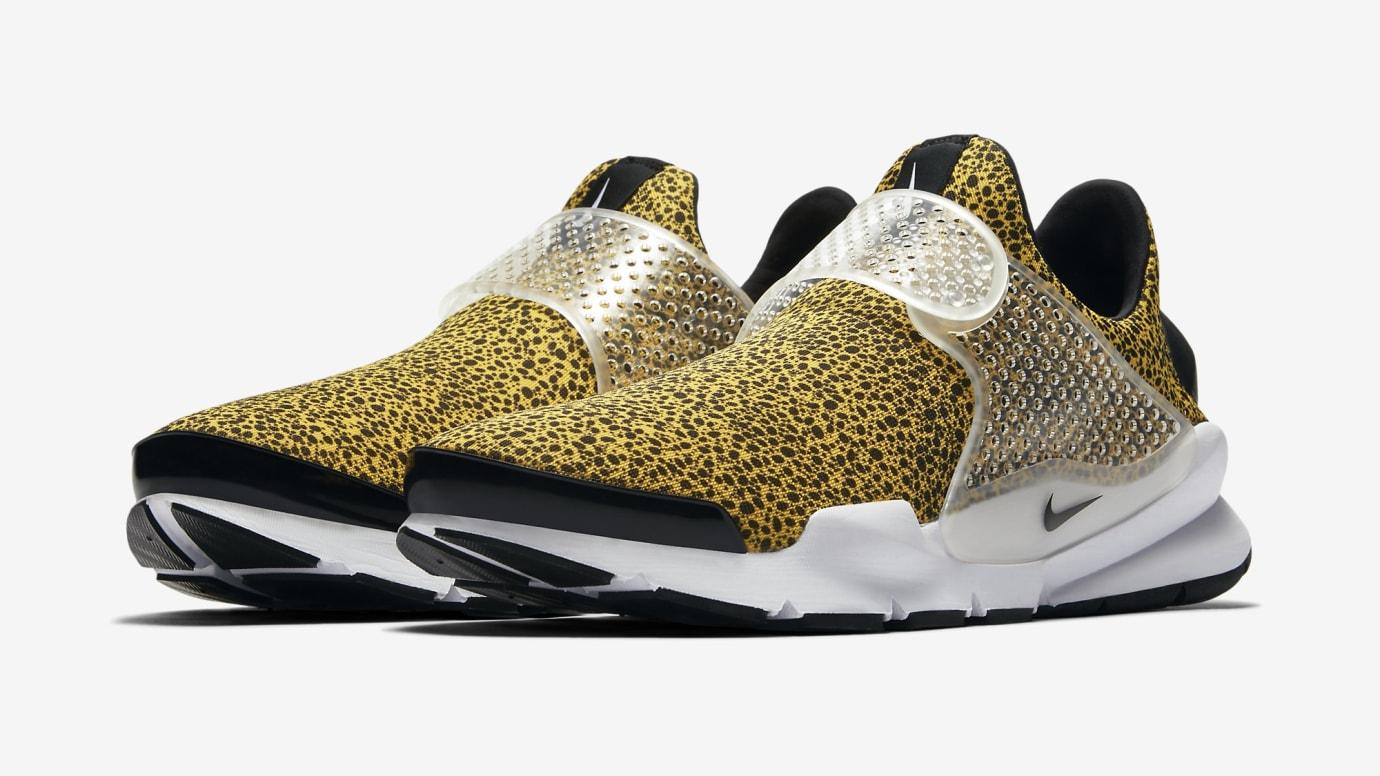 "Nike Sock Dart ""Safari"" University Gold/Black-White"