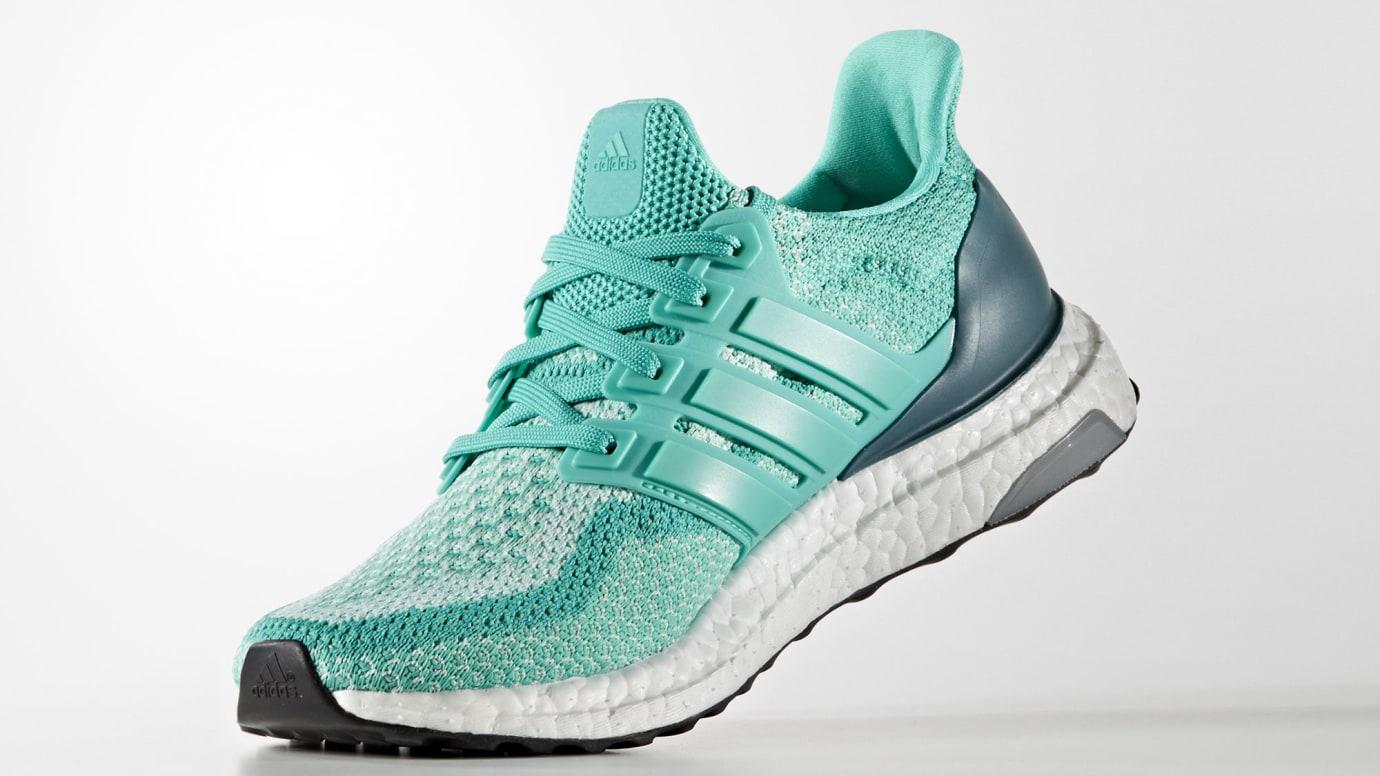 Adidas Women s Ultra Boost 2.0  Shock Mint  Release Date AQ5927 ... 17603bb49