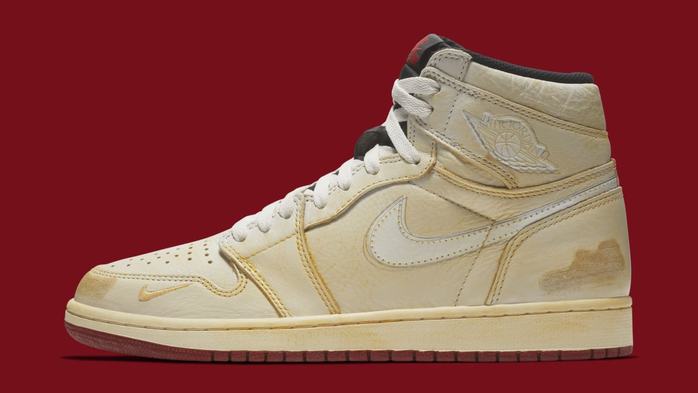 reputable site d0857 43b78 Nigel Sylvester x Air Jordan 1 BV1803-106 (Lateral)