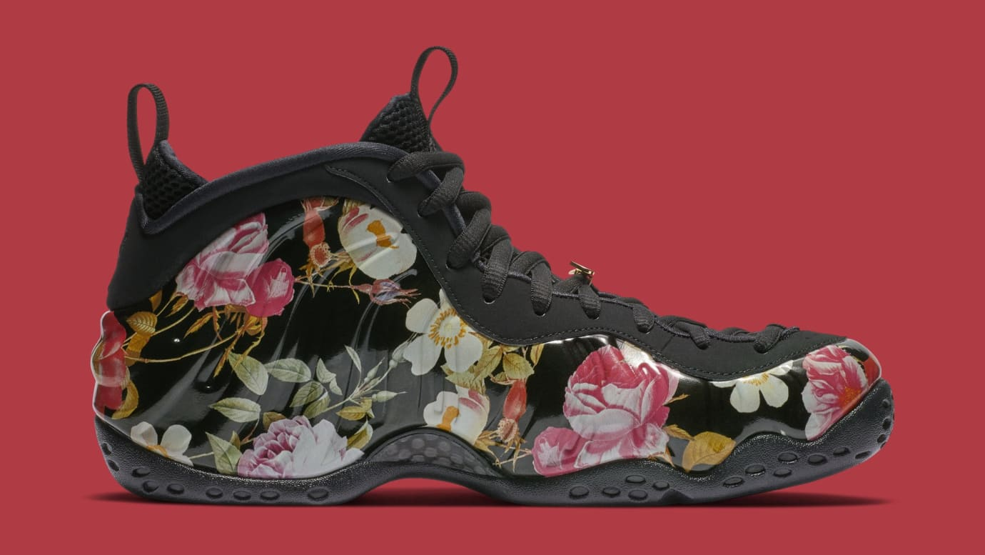 28050fa7f70 Image via Nike Nike Air Foamposite One  Valentine s Day Floral  314996-012  (Medial)