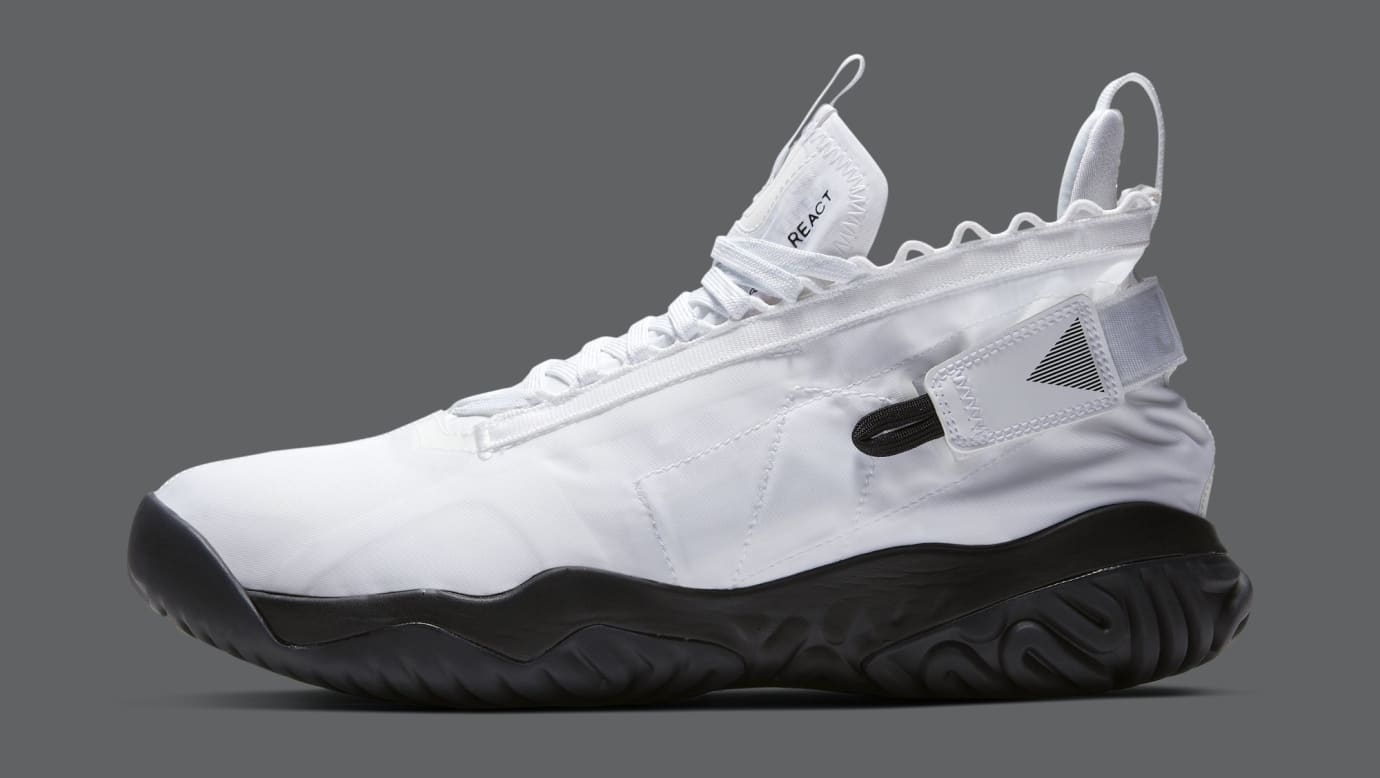 Jordan Proto React 'White/Black' BV1654-100 (Lateral)