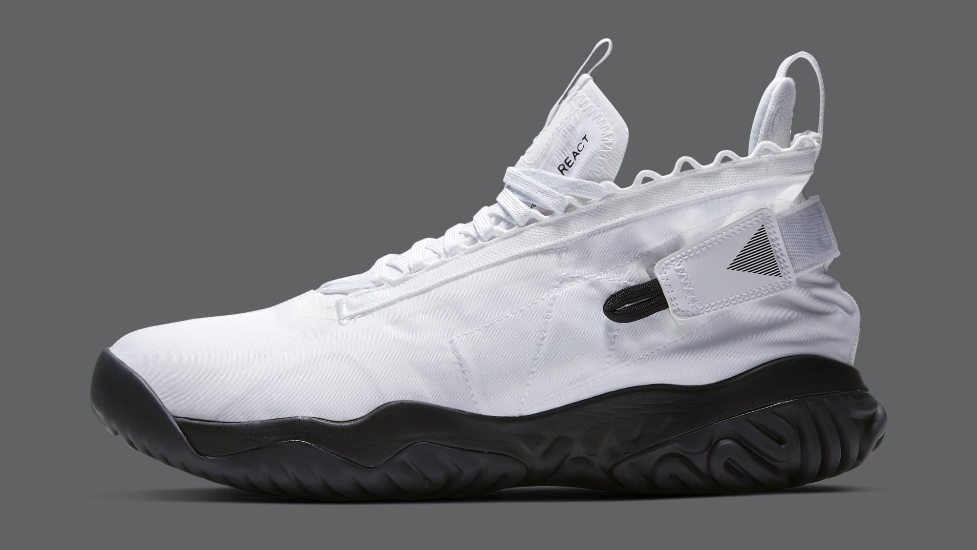 18989a67f4b Image via Nike Jordan Proto React 'White/Black' BV1654-100 (Lateral)