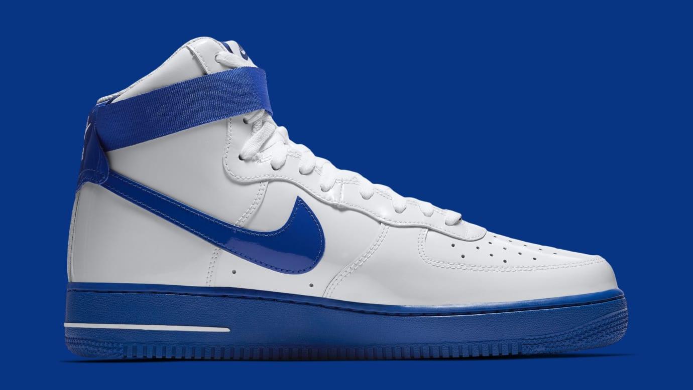 buy popular 6c4d1 1a64b Image via Nike Nike Air Force 1 High  Rude Awakening  AQ4229-100 (Medial)