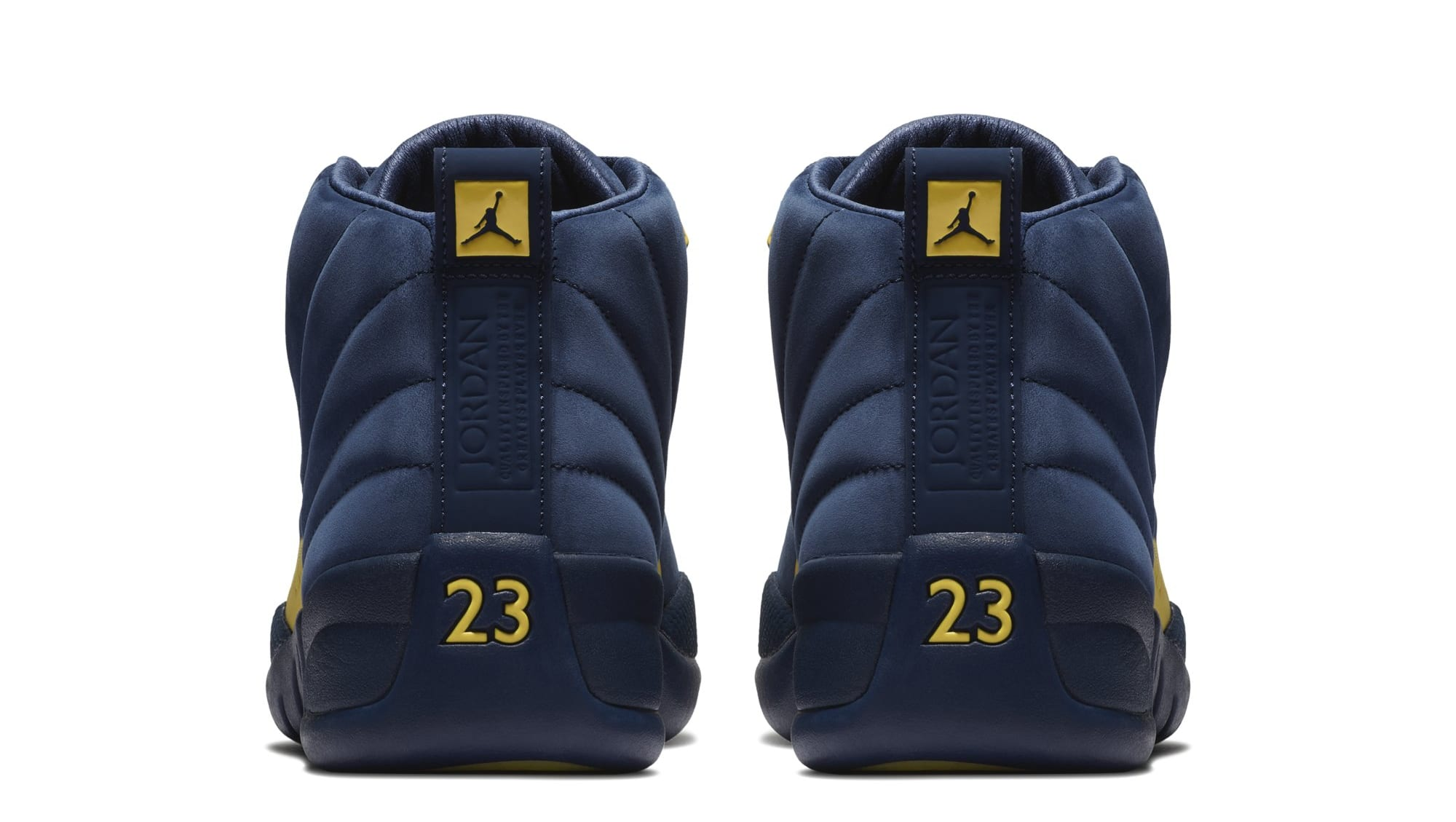 Air Jordan 12 'Michigan' BQ3180-407 (Heel)