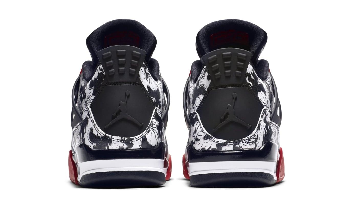 pretty nice f67fc d6b0a Image via Nike Air Jordan 4 Retro  Tattoo  BQ0897-006 (Heel)