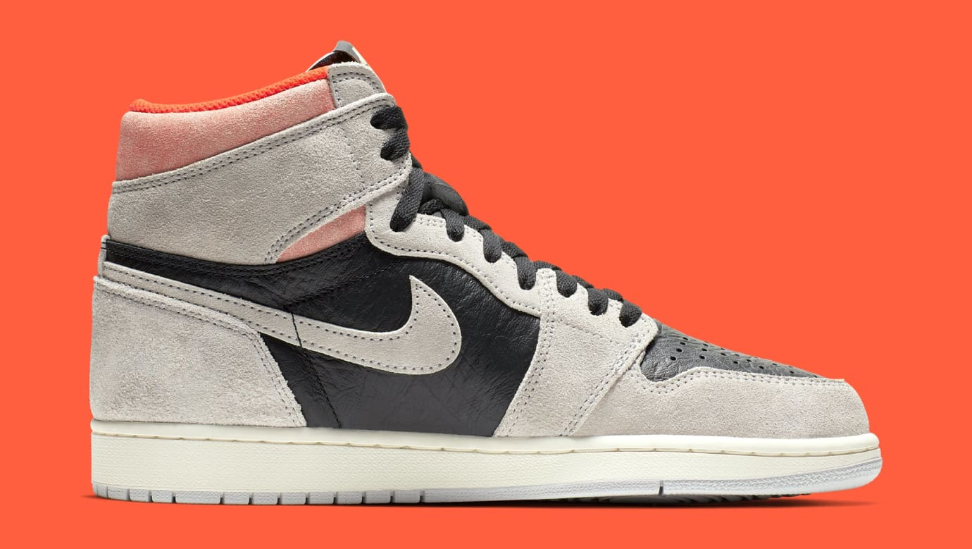 767c5f26ce2bec Image via Nike Air Jordan 1  Neutral Grey Hyper Crimson-White-Black  555088-
