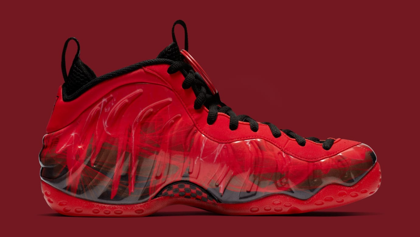 3936ca3ea Image via Nike Nike Air Foamposite One  Doernbecher  Challenge Red Black  641745-600 (Medial