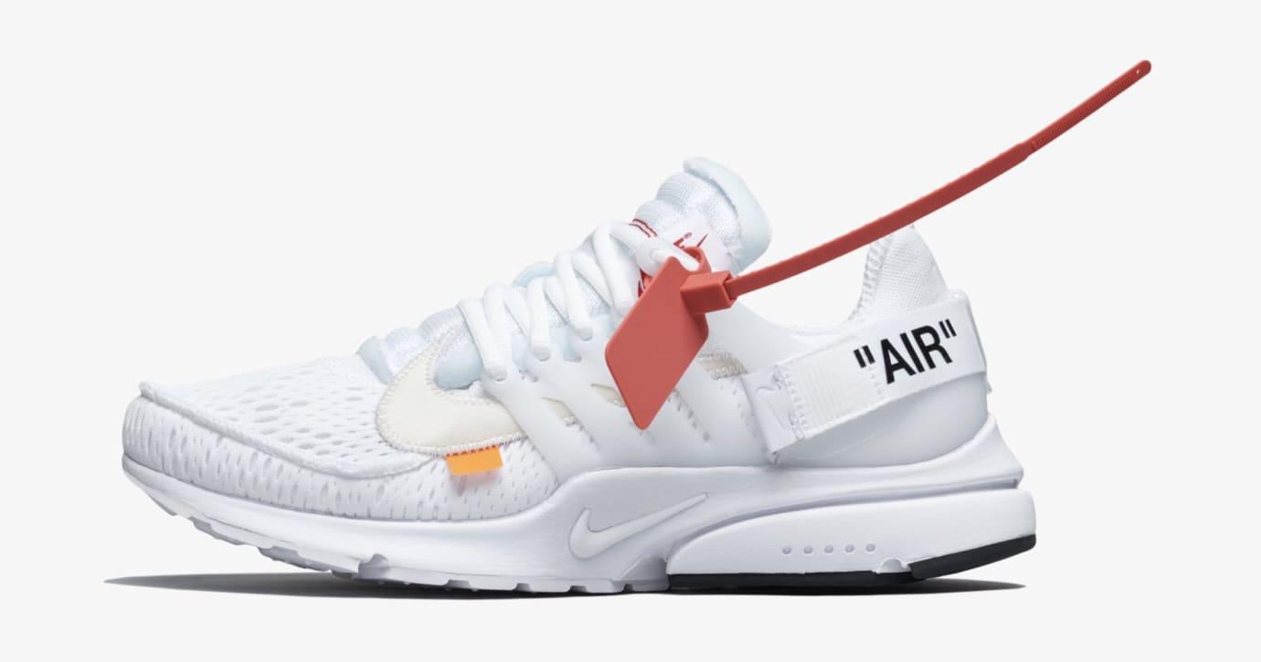 Off-White x Nike Air Presto 'Polar Opposites/White' AA3830-100 (Lateral)