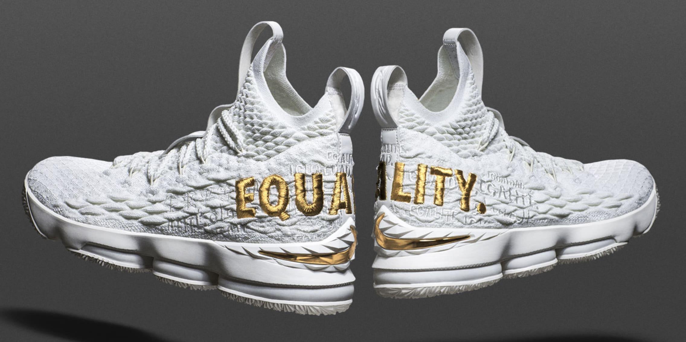 Nike LeBron 15 'Equality PE/White'