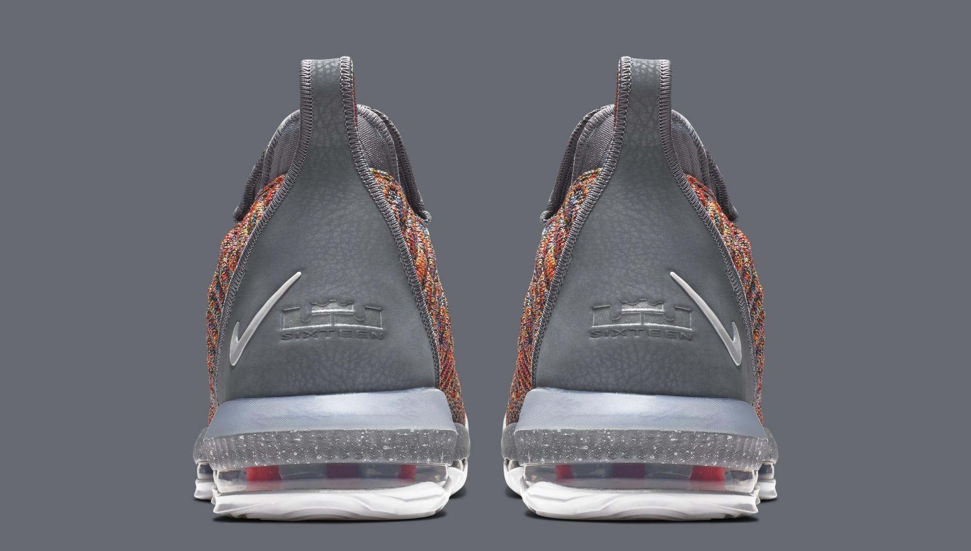 Nike LeBron 16 'Multicolor' BQ5969-900 (Heel)