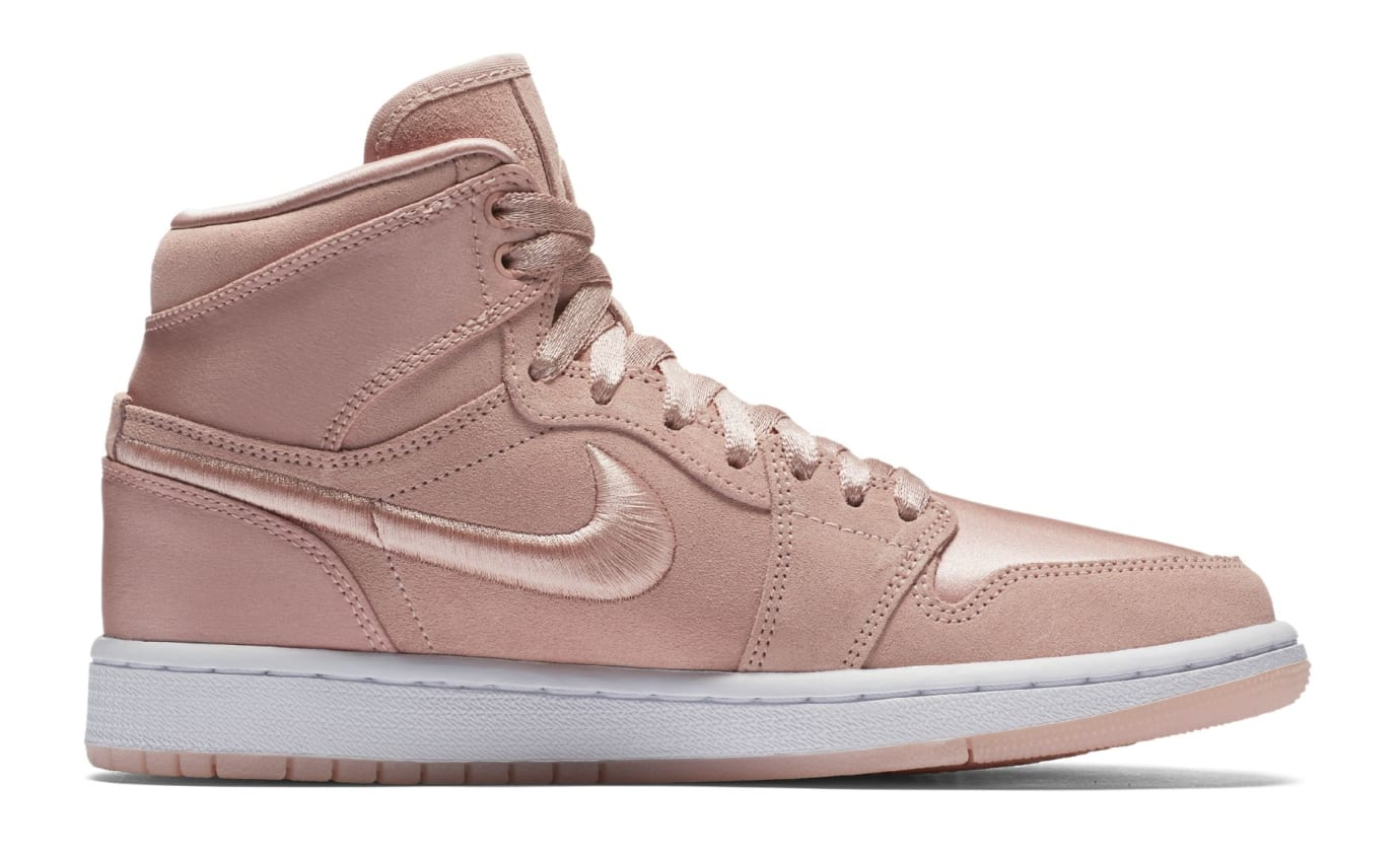 Air Jordan 1 Summer of High 'Sunset Tint' Sunset Tint/White-Metallic Gold (Medial)