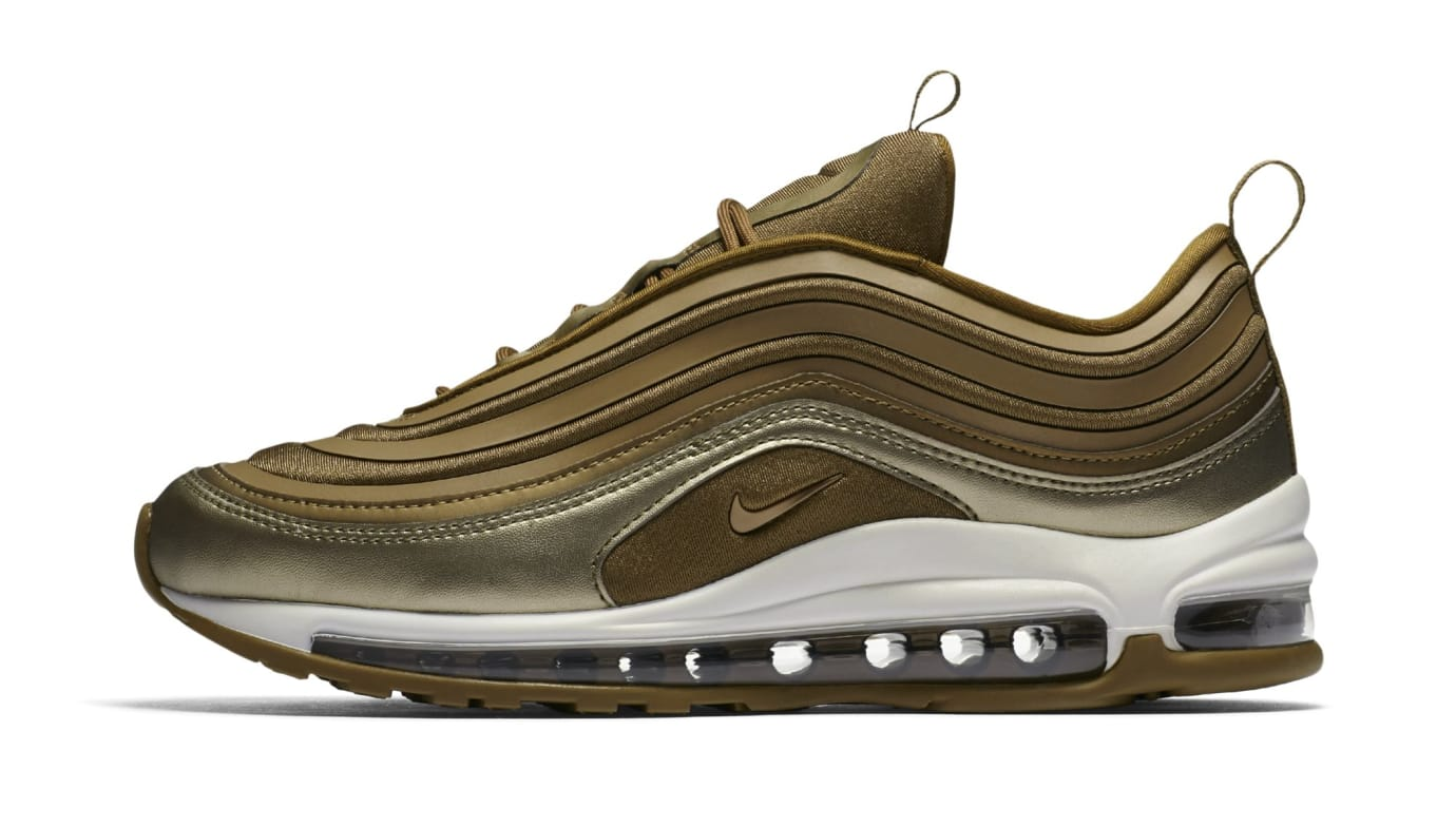 Nike Air Max 97 Ultra Metallic Gold (Lateral)