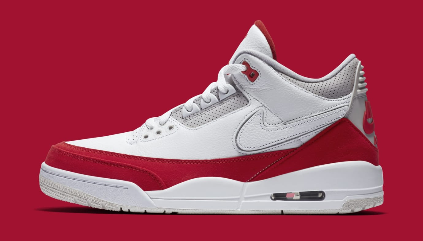 the latest dc436 7b972 Air Jordan 3 TH SP 'Katrina' White/University Red-Neutral ...