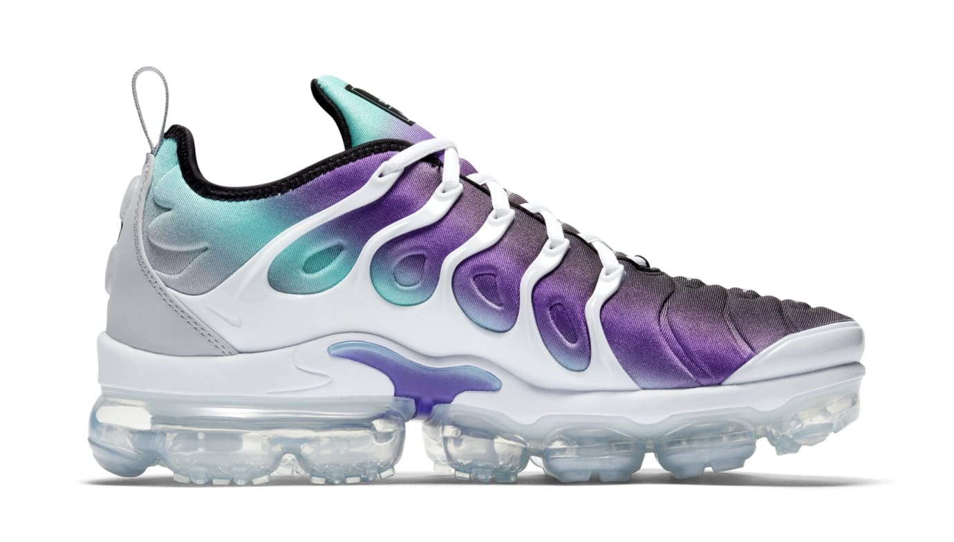 Nike Air VaporMax Plus 'Purple/Aqua' 924453-101 (Medial)