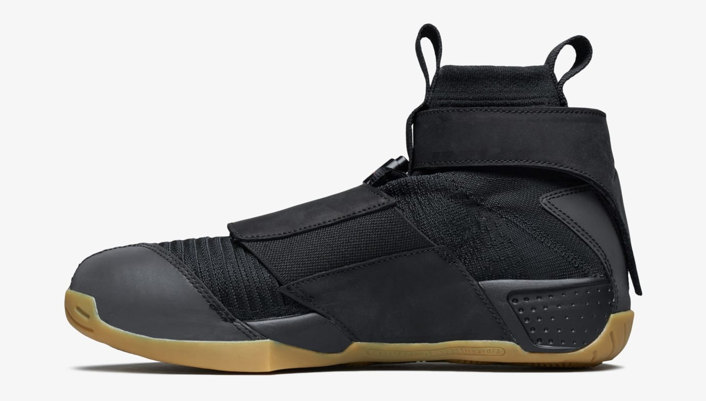 info for 671ce 4497b Image via US11 · Air Jordan 20 Flyknit  Melo Black Gum  (Medial)