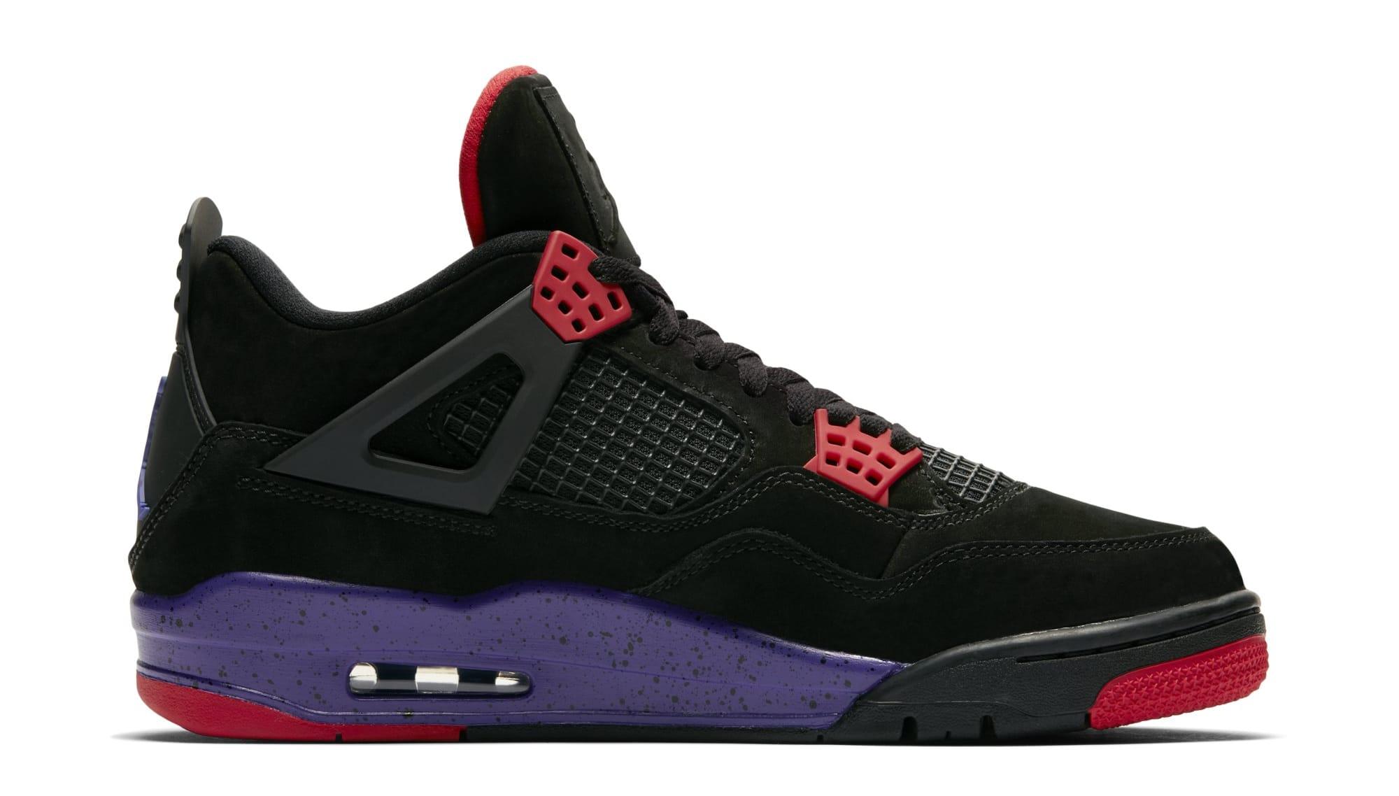 e3c791accfa Air Jordan 4 Retro NRG 'Black/University Red/Court Purple ' AQ3816-056  Release Date | Sole Collector