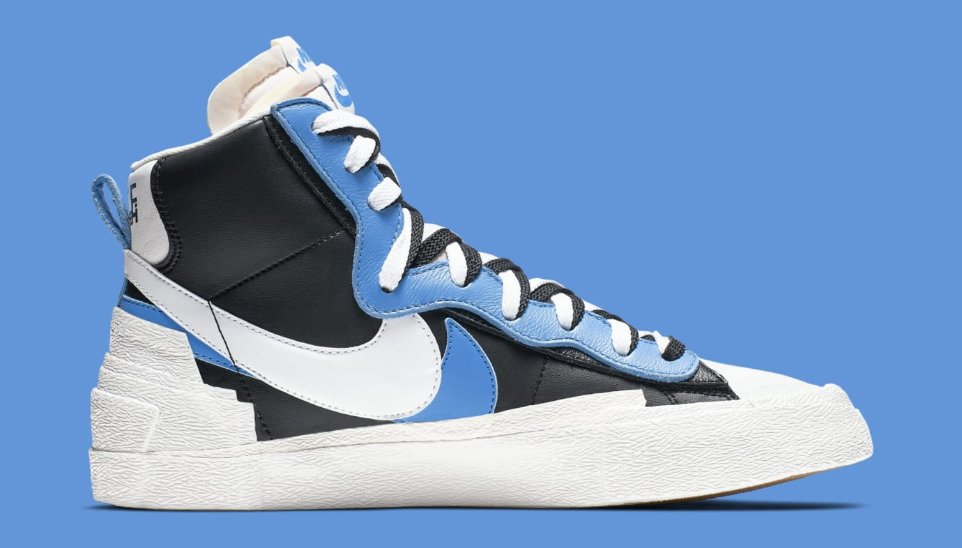 quality design 0559e 2efc1 Sacai x Nike Blazer High BV0072-001 BV0072-700 Collection ...