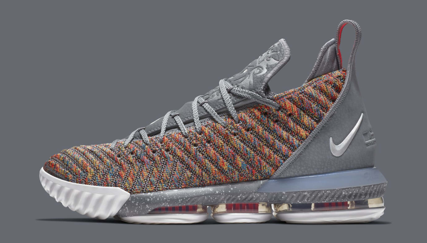 Nike LeBron 16 'Multicolor' BQ5969-900 (Lateral)