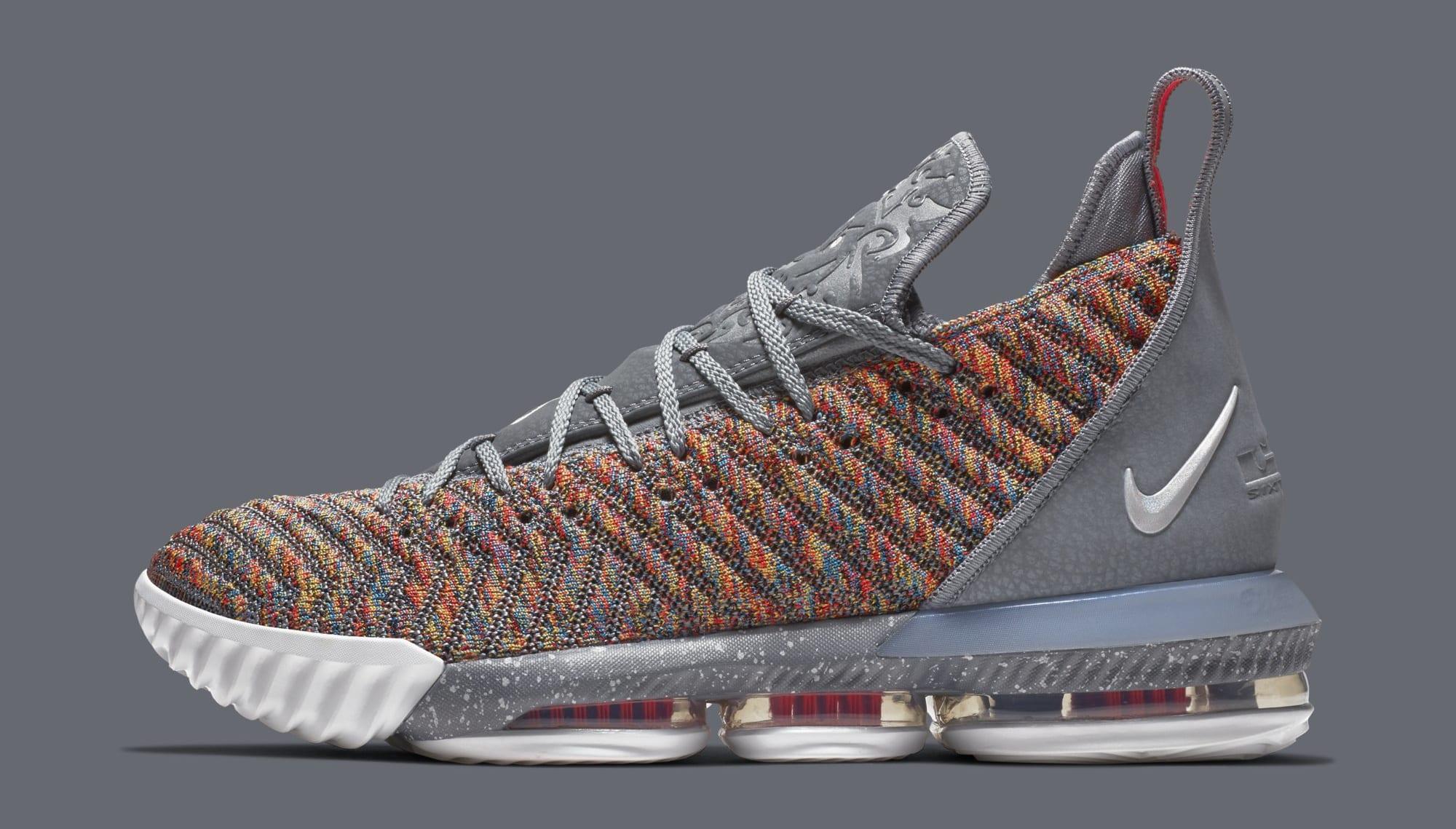 Nike LeBron 16 'Multicolor' BQ5969-900 (Lateral)