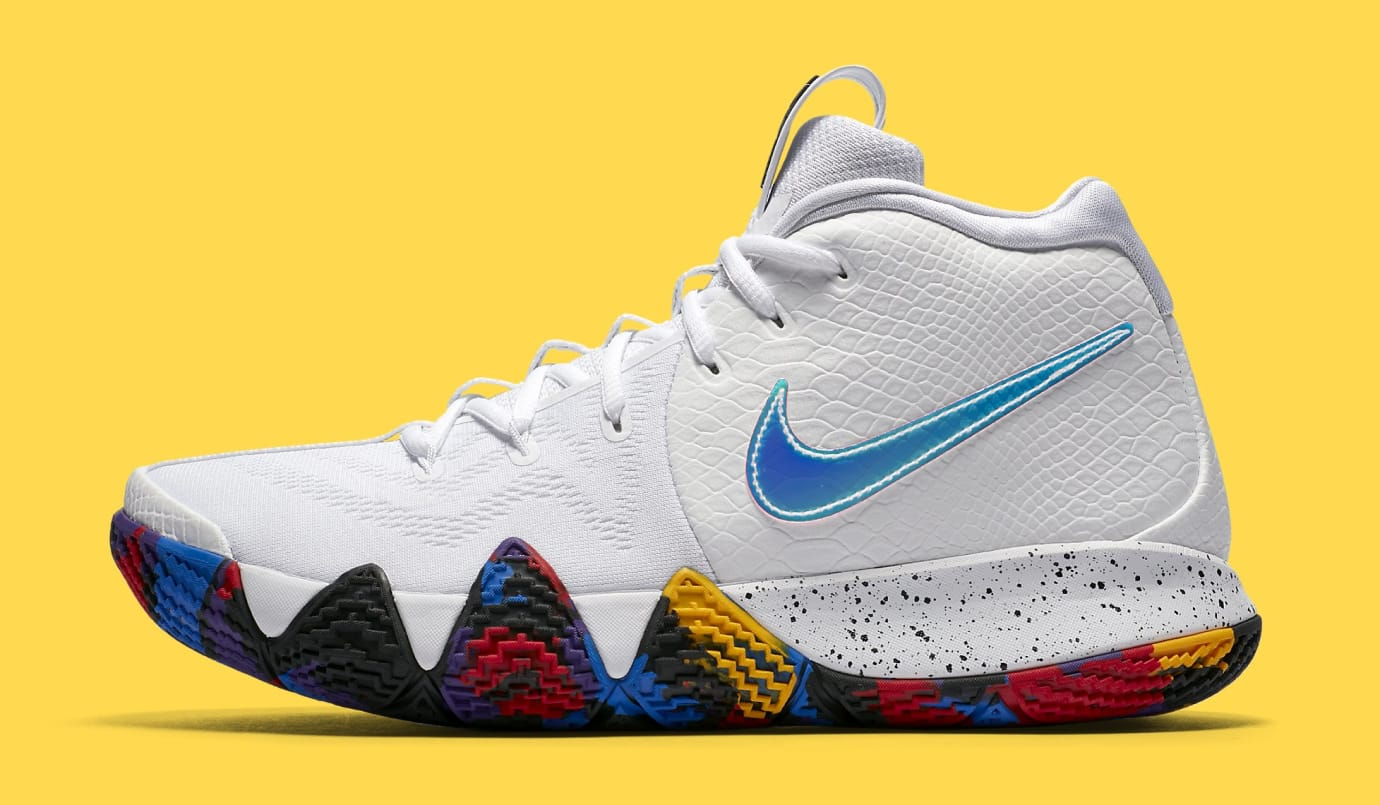 cc20c1c9cfb07 Nike Kyrie 4 'March Madness' 943804-104 Release Date | Sole Collector