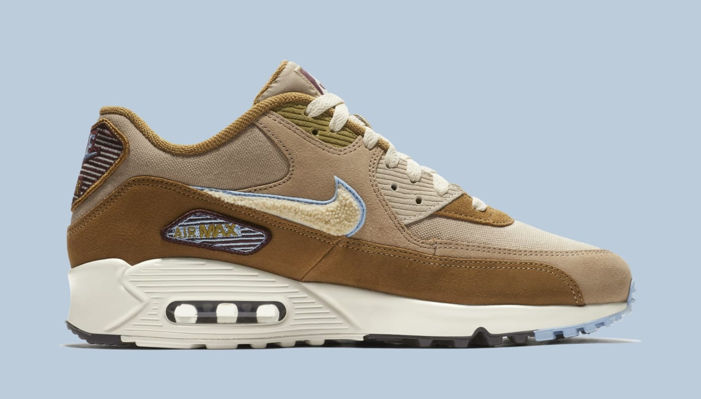 timeless design 635d3 025ad Image via Nike Nike Air Max 90 858954-200 (Medial)
