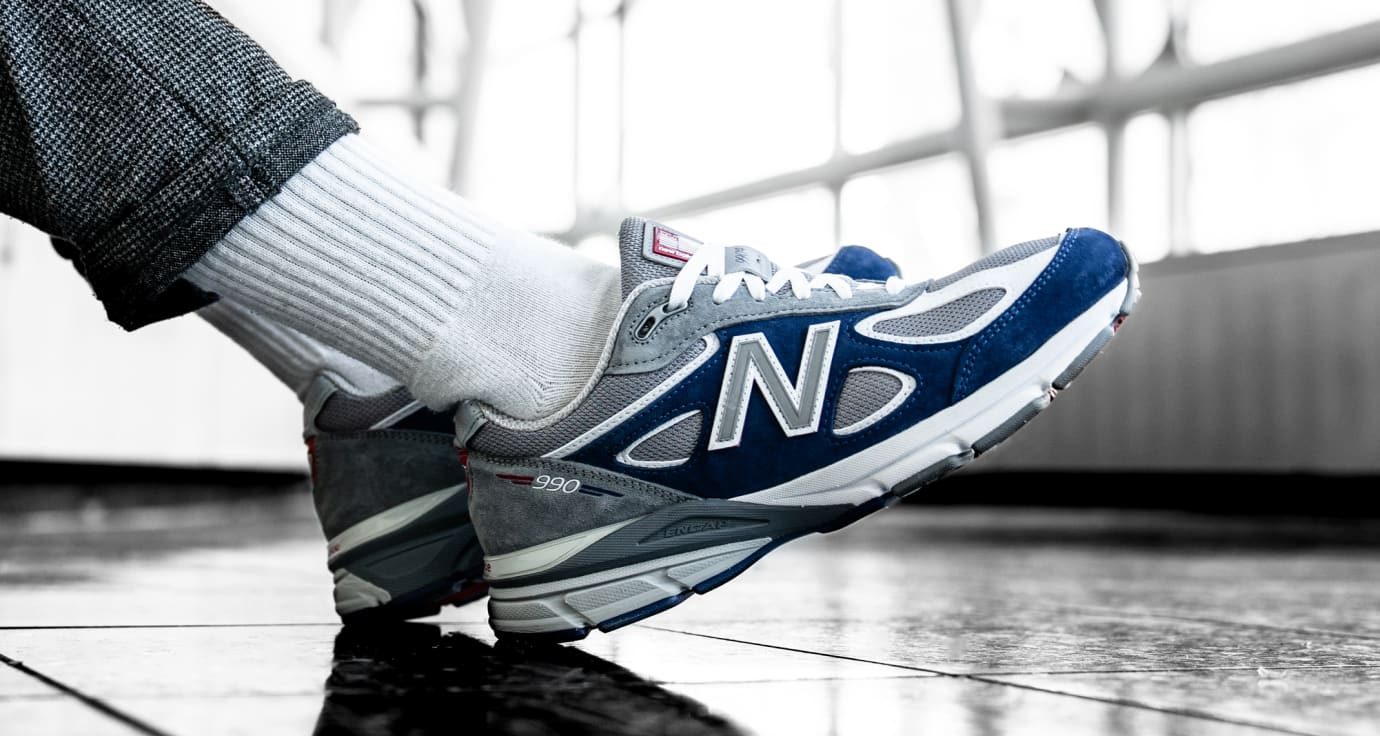 DTLR/Villa x New Balance 990 (On-Foot)