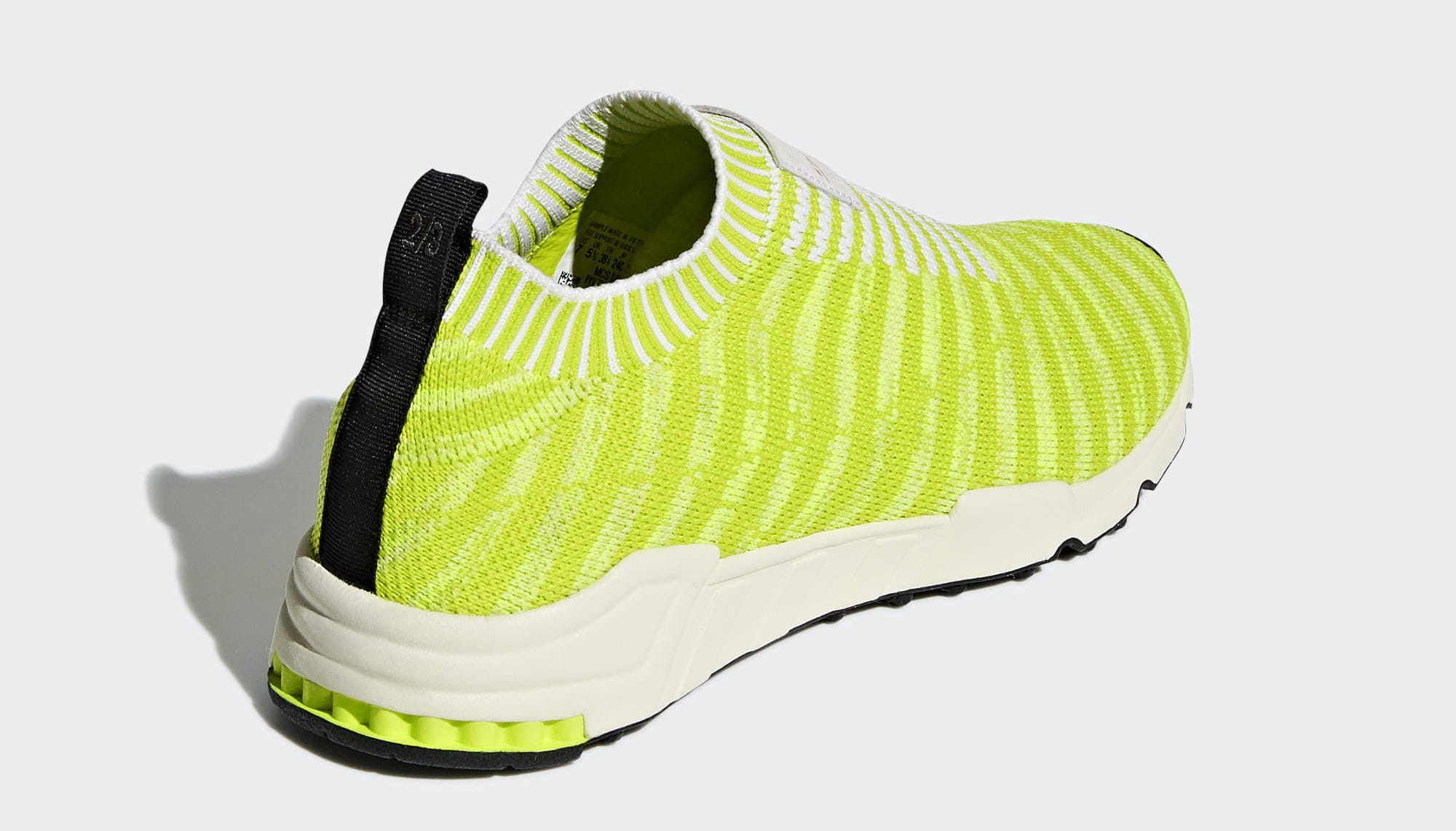 Adidas EQT Support Sock PK 'Solar Yellow' B37545 (Heel)