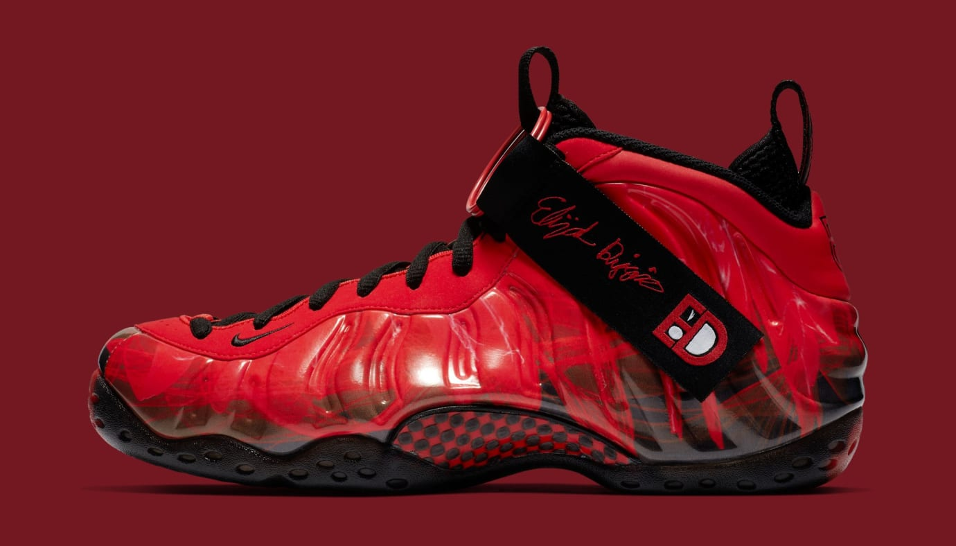 88b231cc7 Nike Air Foamposite One  Doernbecher  Challenge Red Black 641745-600  (Lateral