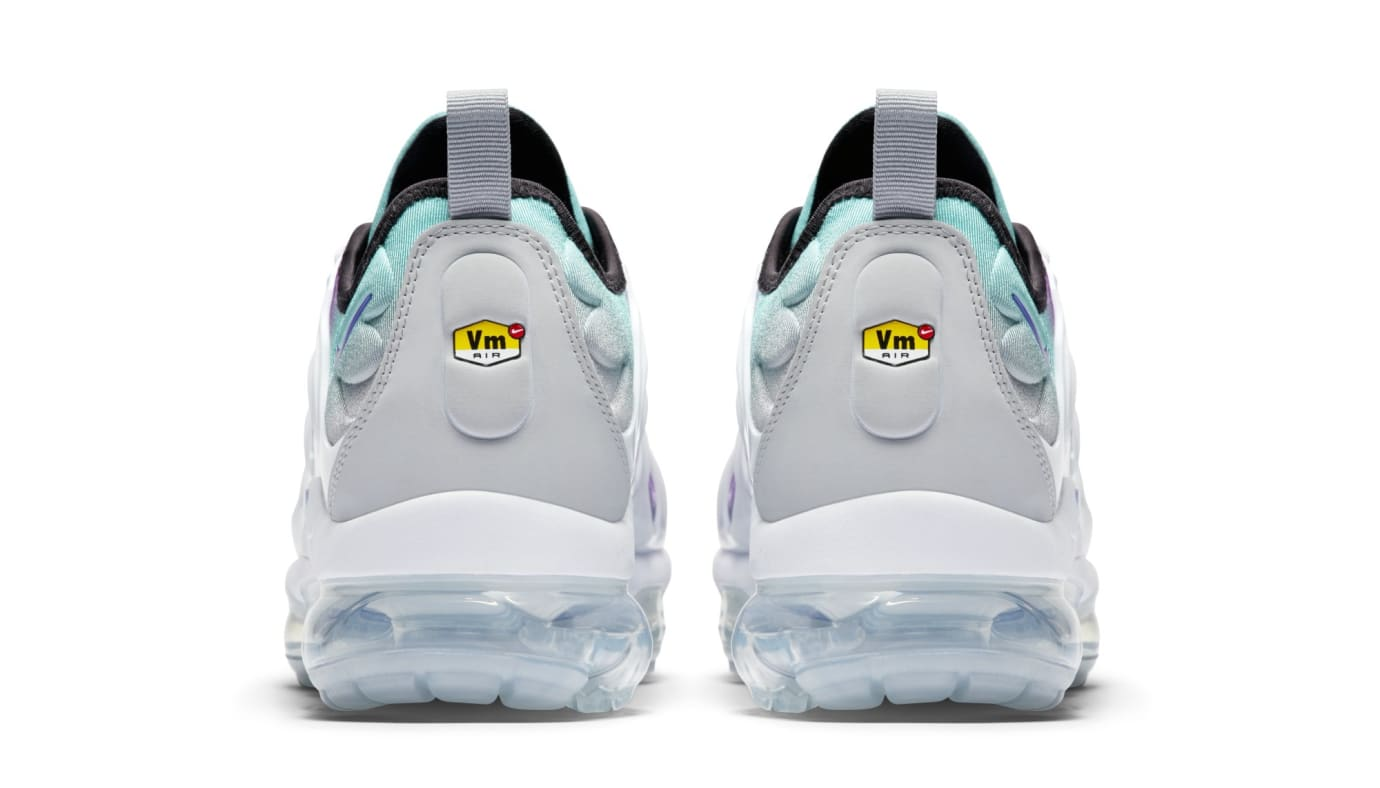 Nike Air VaporMax Plus 'Purple/Aqua' 924453-101 (Heel)