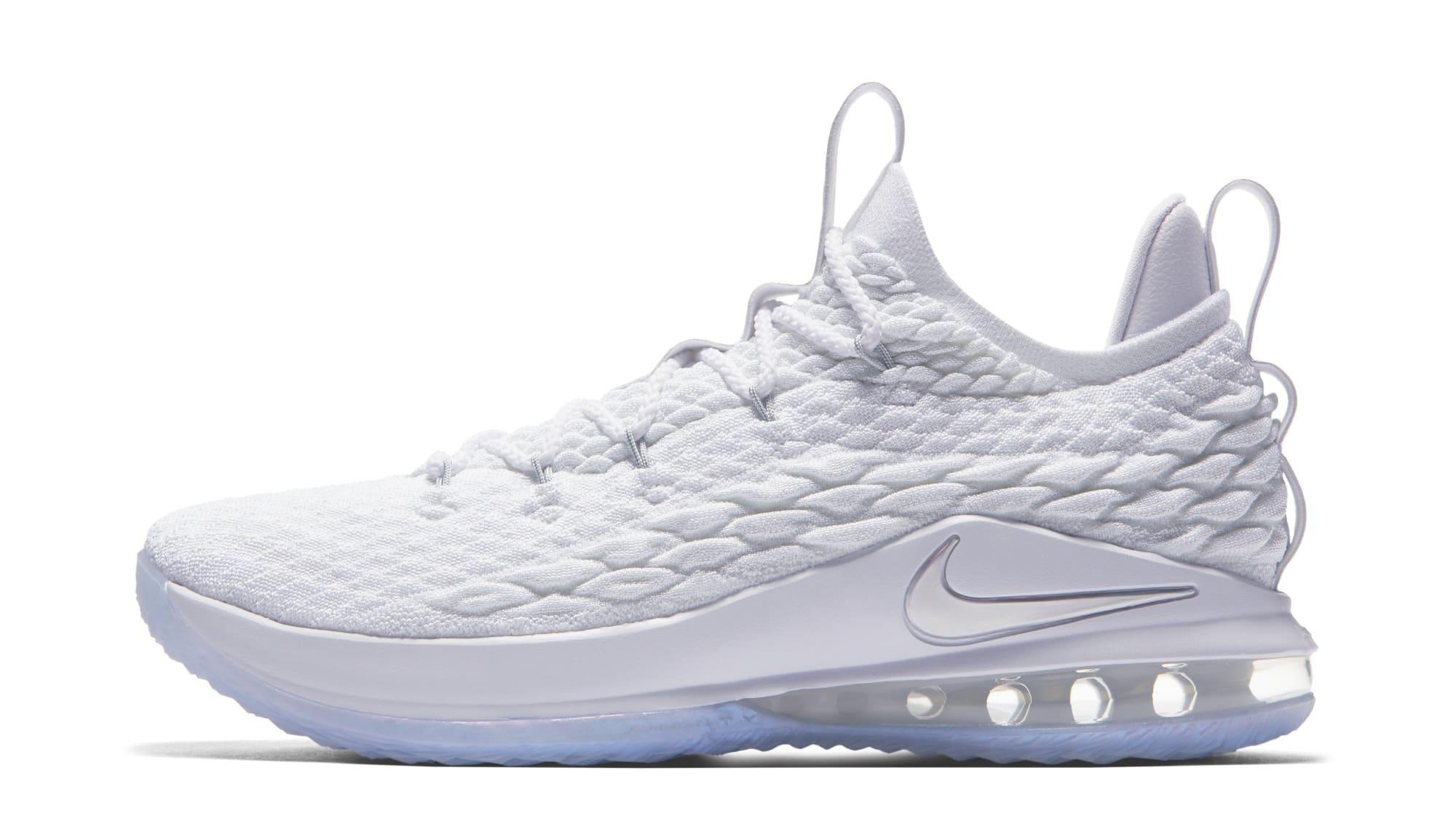 Nike LeBron 15 Low 'White' AO1755-100 (Lateral)