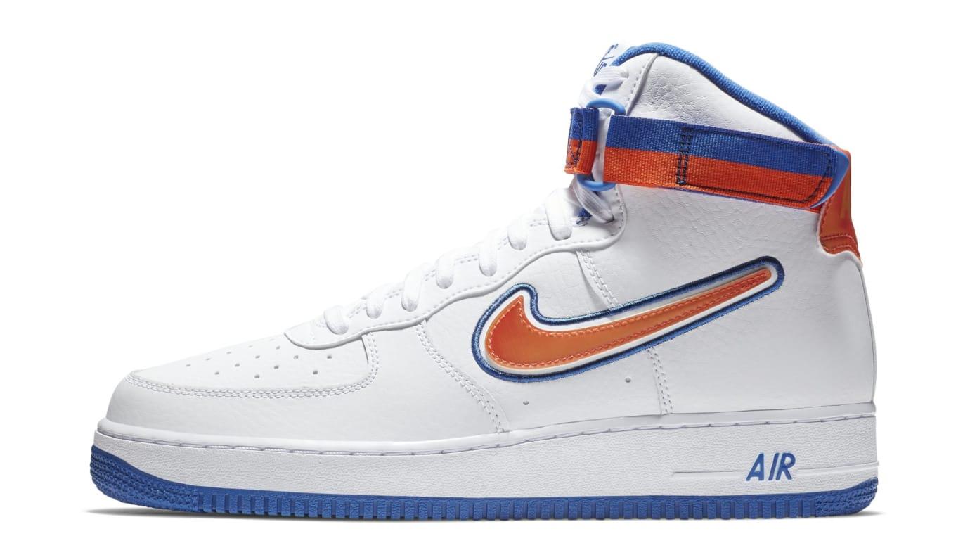 gran selección de 2019 entrega gratis estilo único Nike Air Force 1 High Sport 'Knicks' AV3938-100 Release Date ...