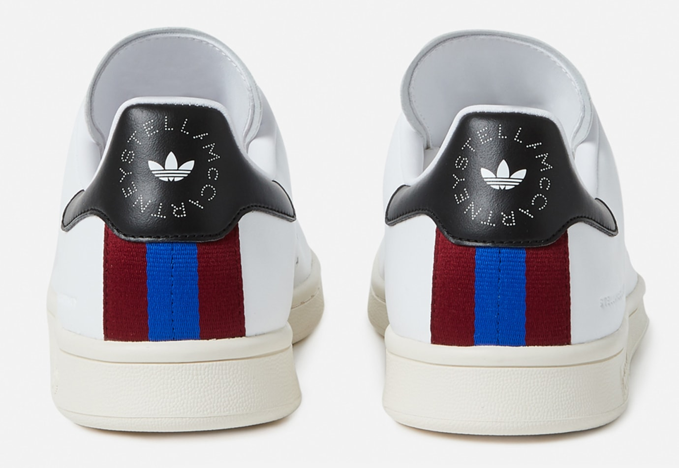 new arrival f6c64 45c2d Image via Stella McCartney Stella McCartney x Adidas Stan Smith (Heel)