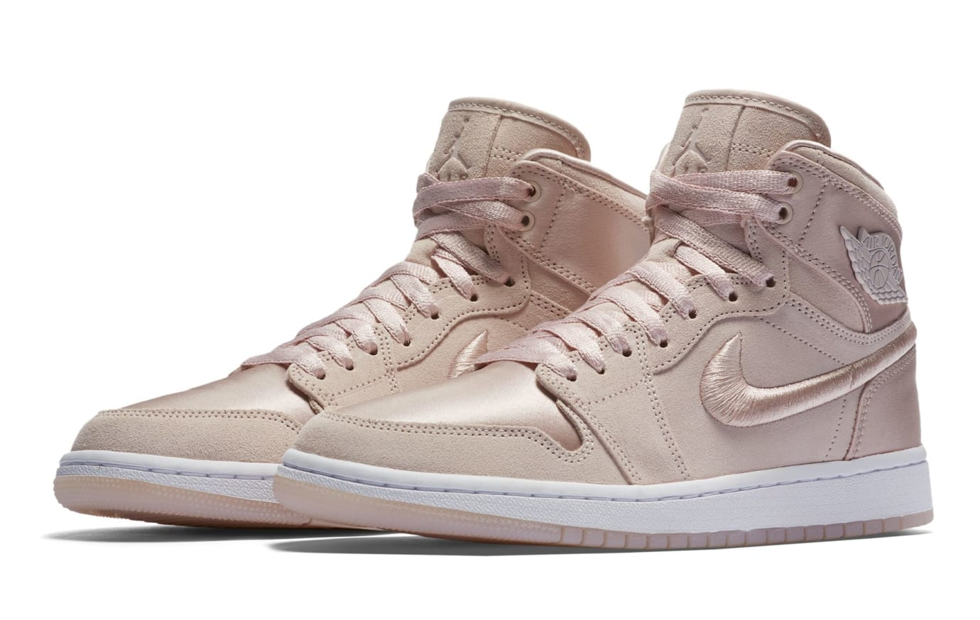 Air Jordan 1 Summer of High 'Silt Red' Silt Red/White-Metallic Gold (Pair)