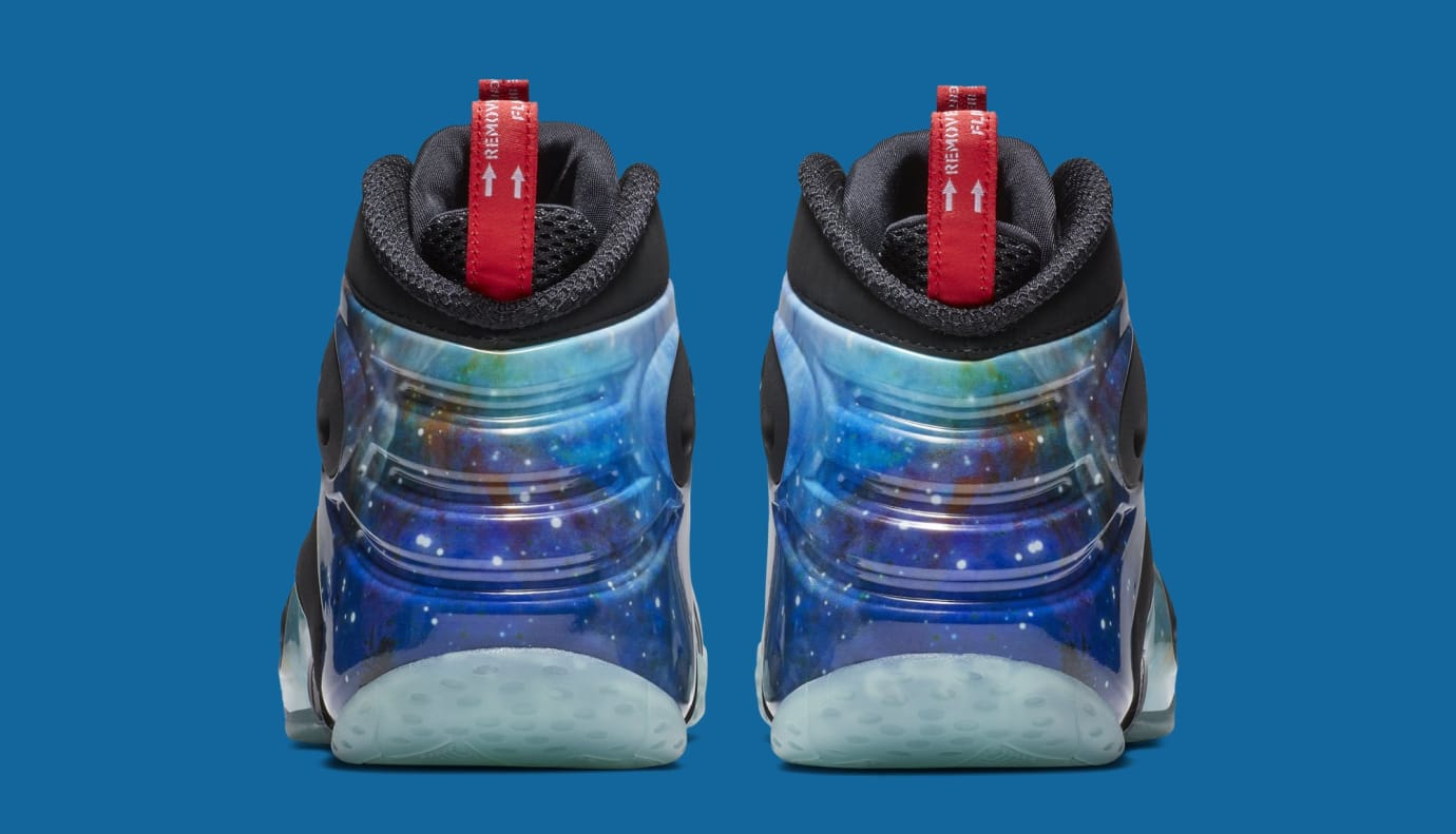 "Nike Zoom Rookie VB ""Galaxy"" CI2120-001 (Heel)"