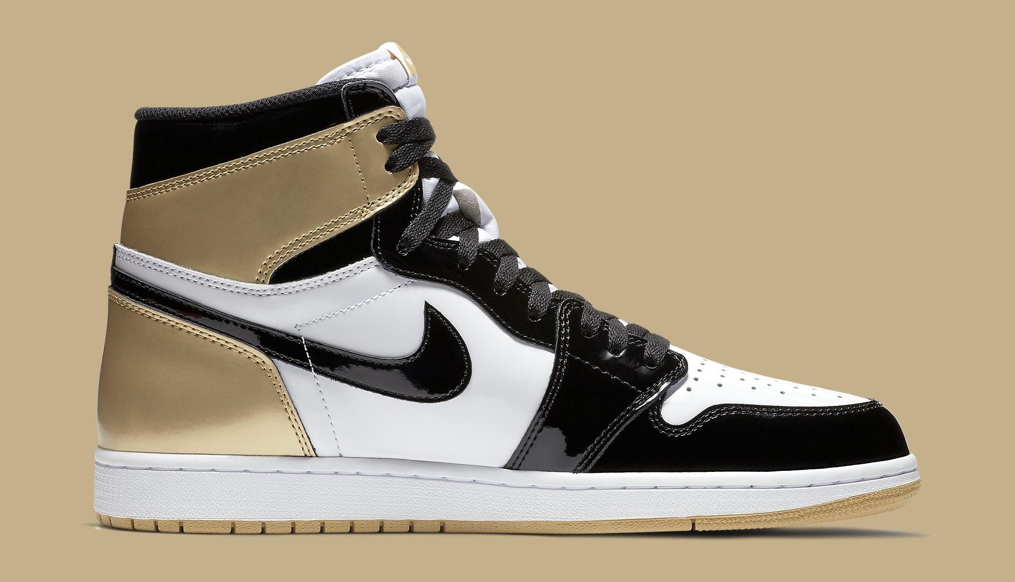 Air Jordan 1 High Gold Top 3 861428-001