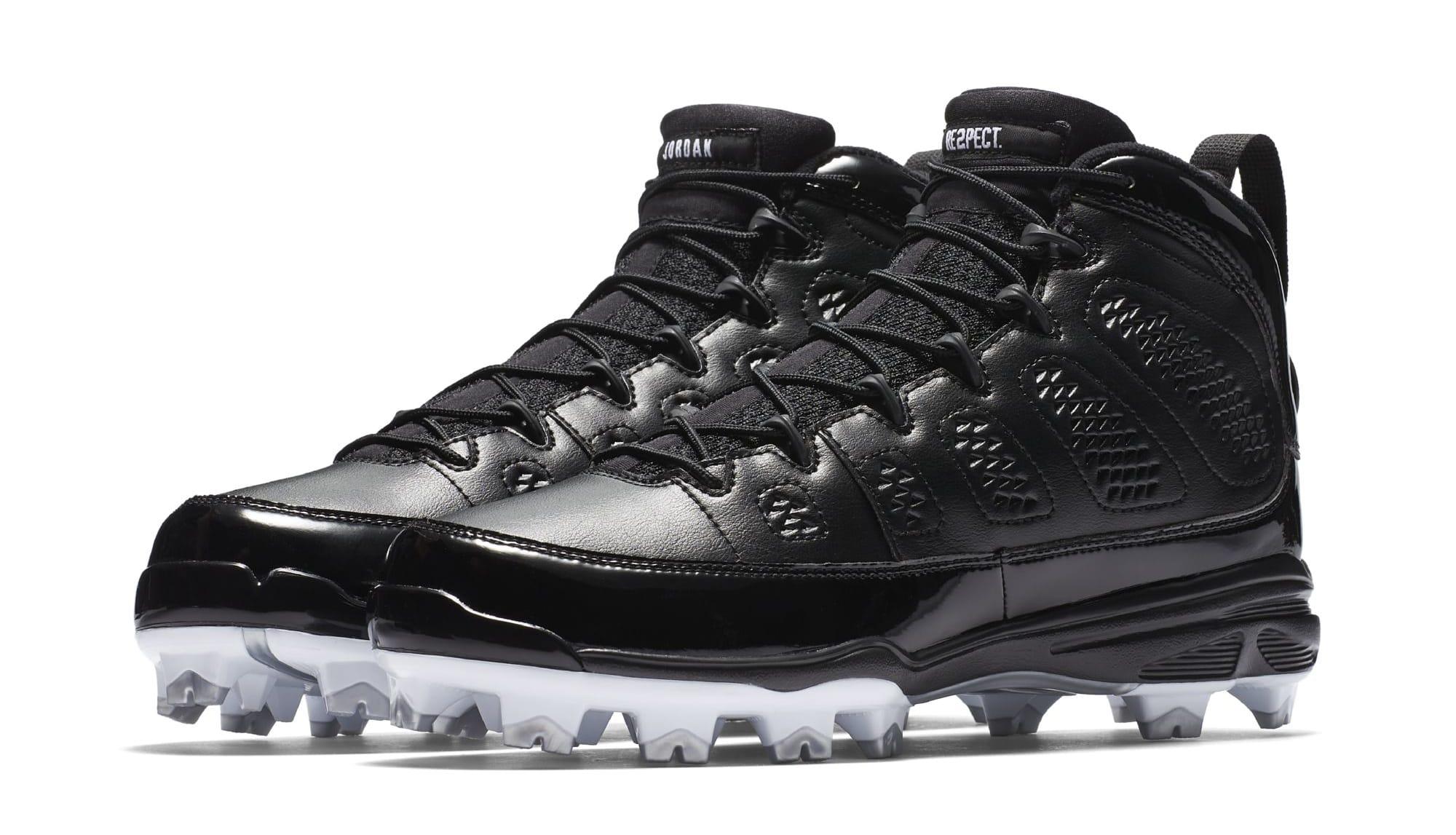 Air Jordan 9 IX MCS Baseball Cleats Black