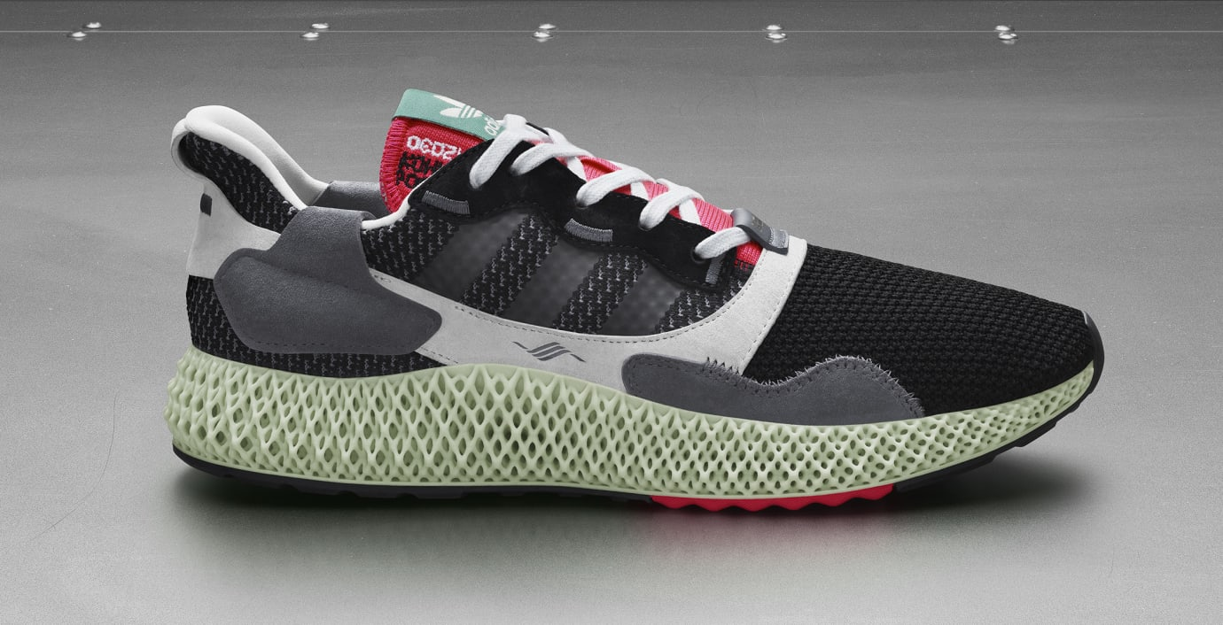 Adidas Consortium ZX4000 4D BD7931 (Lateral)