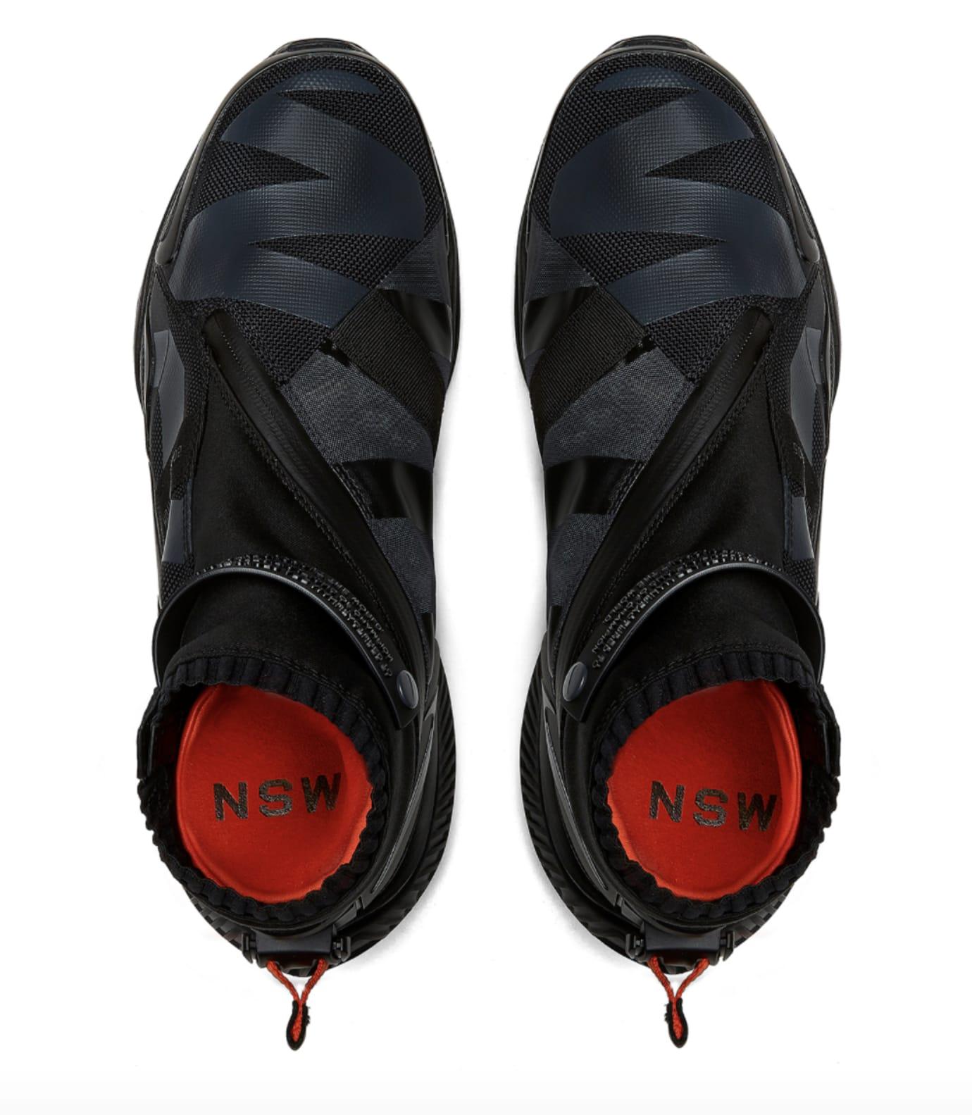 NikeLab Gyakusou Gaiter Boot 'Black' (Top)