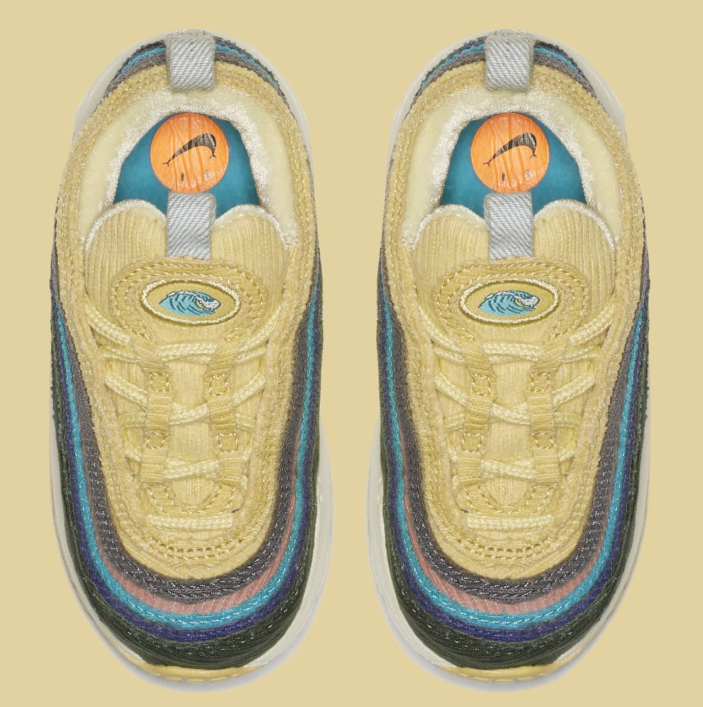 Sean Wotherspoon x Nike Air Max 1/97 Toddler BQ1670-400 (Top)
