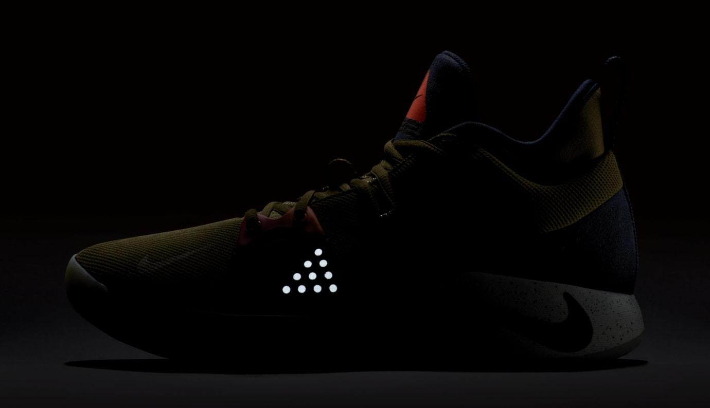 Nike PG2 'Olive Canvas/Obsidian-Light Silver' (Reflective)