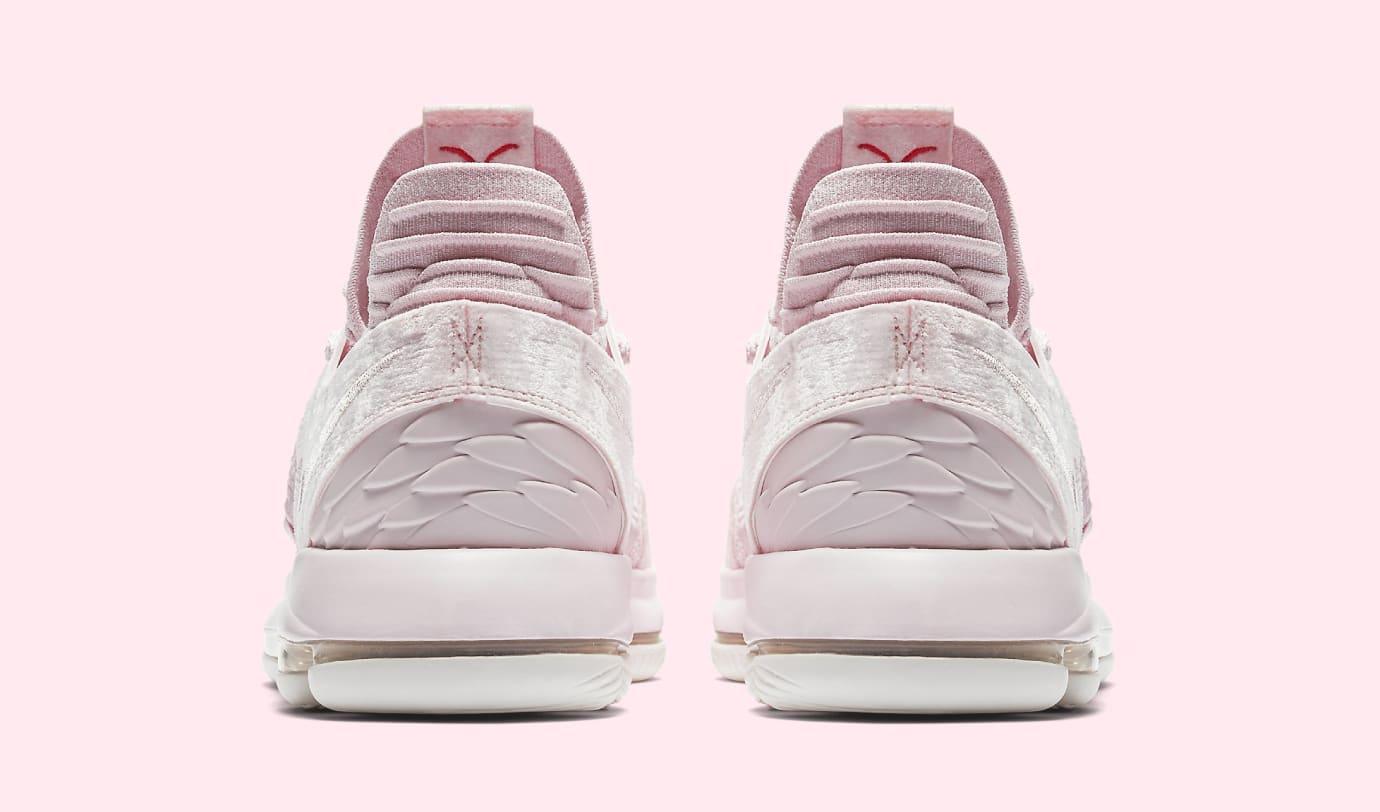 sports shoes 8fcab 9a4e9 Image via Nike Nike KD 10  Aunt Pearl  AQ4110-600 (Heel)