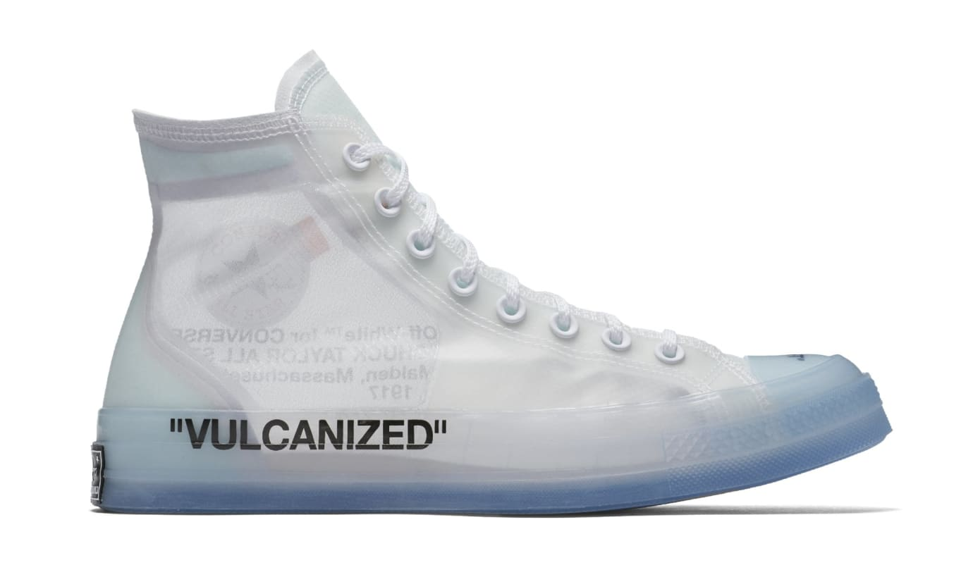 27109a44bac Image via Converse Off-White x Converse Chuck Taylor All Star 70  162204C-102 (Lateral)