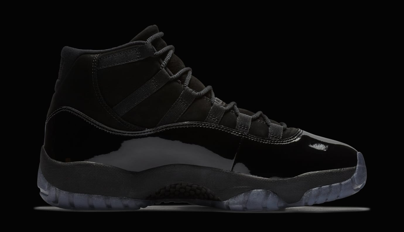 Image via Nike Air Jordan 11 Retro  Cap and Gown  3780370-005 (Medial) ab855343518