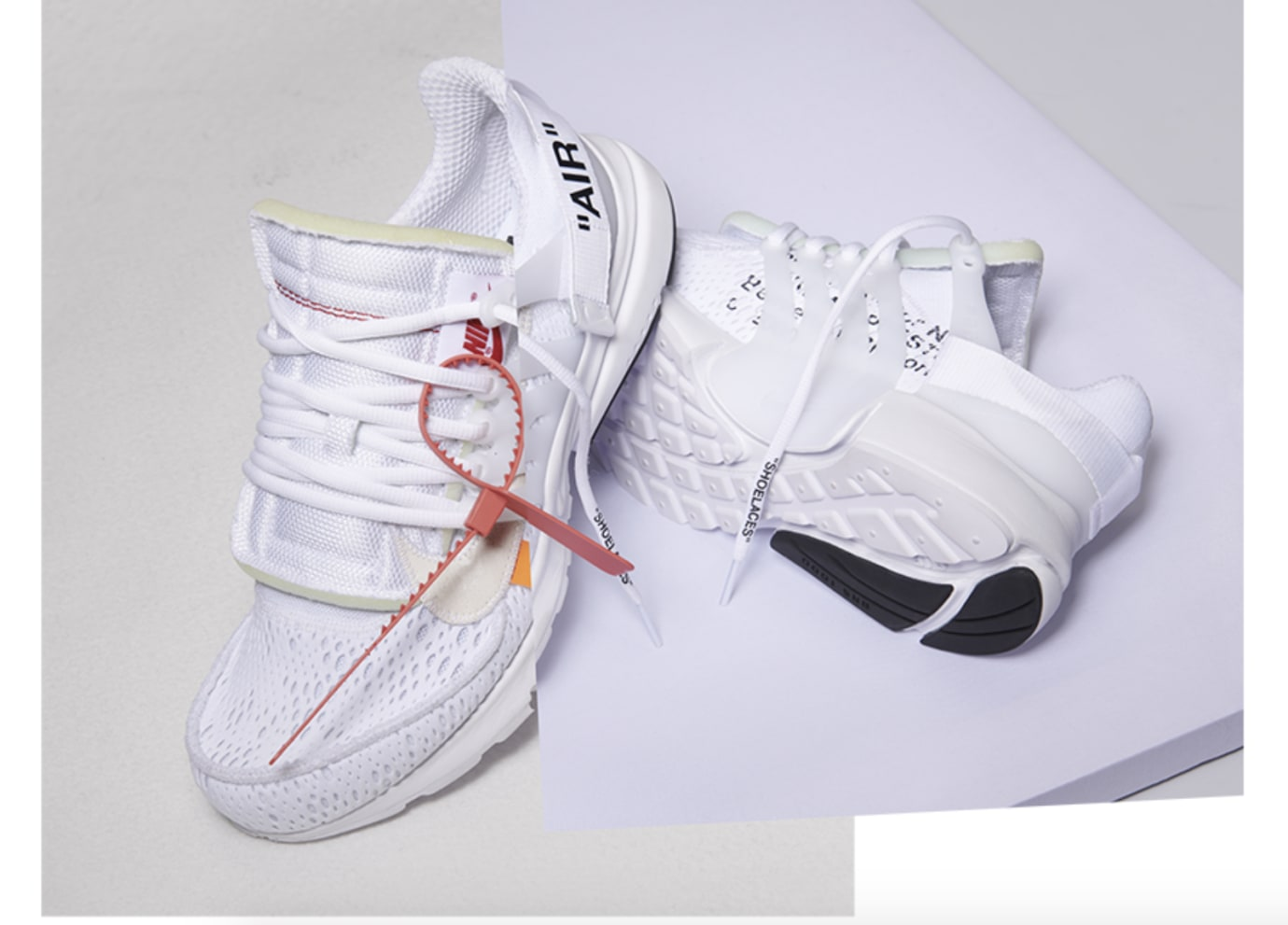 Off-White x Nike Air Presto 'White' AA3830-100