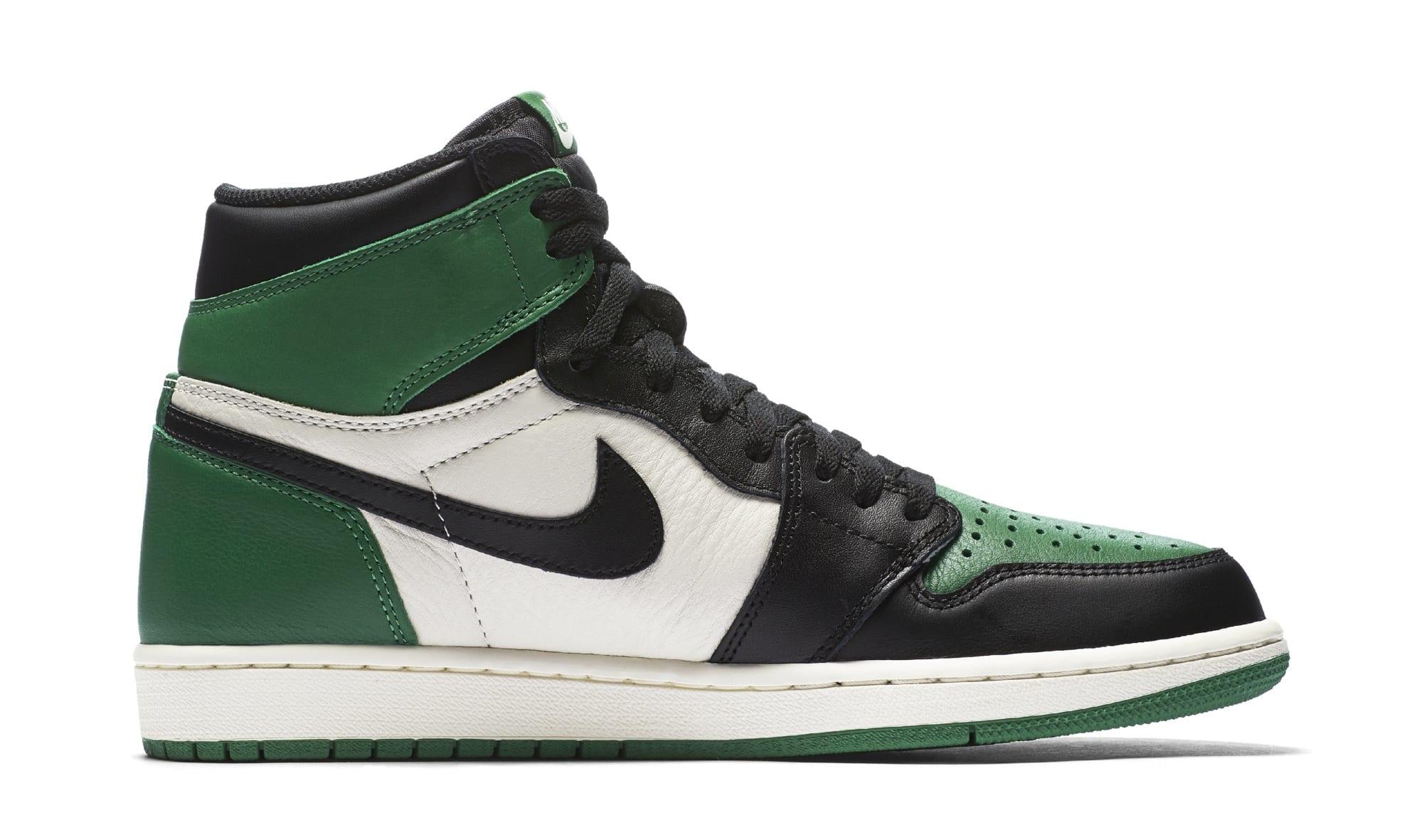 Air Jordan 1 High OG 'Pine Green' 555088-032 (Lateral)
