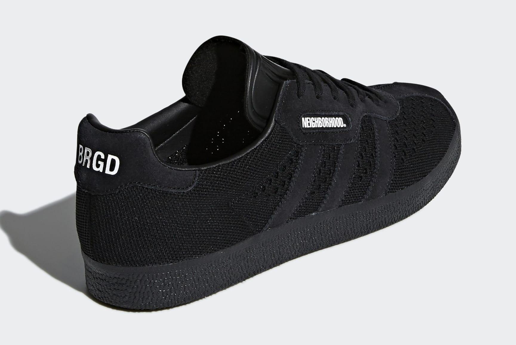 Neighborhood x Adidas Gazelle Super DA8836 (Heel)