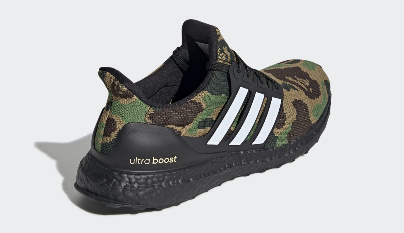 the latest 830f8 d8e05 Image via Adidas Bape x Adidas Ultra Boost F35097 (Heel)