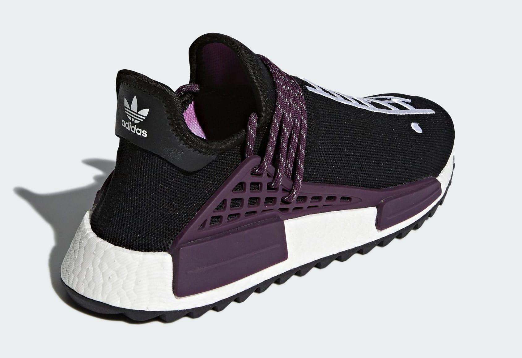 Pharrell x Adidas NMD HU Trail 'Holi' AC7033 (Heel)