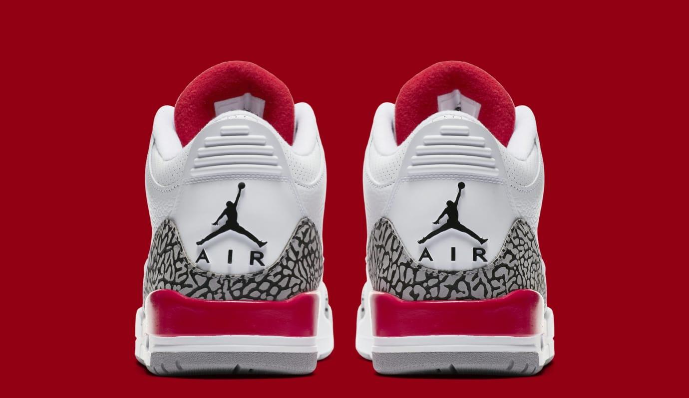 e2e33e6c2f9 Image via Nike Air Jordan 3 Retro  Katrina  136064-116 (Heel)