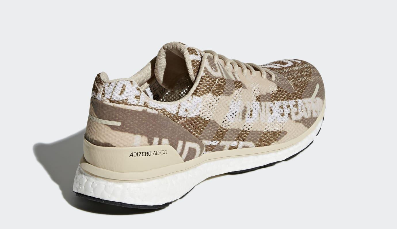 Undefeated x Adidas Adizero Adios 3 (Heel)